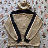 Vintage Grey & Navy Champion Hoodie / Sweatshirt (M)-Sweatshirts/Jumpers-DISTINCT - THREADS