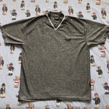Vintage Grey Speckled Versace T Shirt (L)-T Shirts-DISTINCT - THREADS