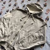Vintage Heather Grey Ralph Lauren Hoodie (S/M)-Sweatshirts/Jumpers-DISTINCT - THREADS