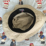 Vintage Khaki Polo Ralph Lauren Bucket Hat-Hats/Accessories-DISTINCT - THREADS