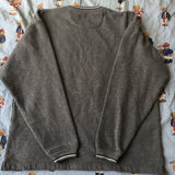 Vintage Marl Grey Chaps Ralph Lauren Sweatshirt (M)-Sweatshirts/Jumpers-DISTINCT - THREADS