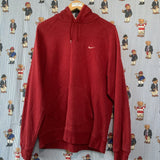 Vintage Maroon Nike Hoodie (M) ✔️-Sweatshirts/Jumpers-DISTINCT - THREADS