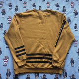 Vintage Mustard Yellow Adidas Original Sweatshirt (L)-Sweatshirts/Jumpers-DISTINCT - THREADS
