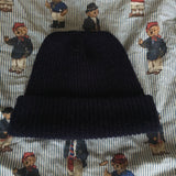 Vintage Navy Adidas Equipment Beanie-Hats/Accessories-DISTINCT - THREADS