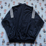 Vintage Navy Adidas Jacket (L)-Jackets/Coats-DISTINCT - THREADS
