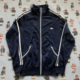 Vintage Navy Adidas Originals Track Jacket (M)-Jackets/Coats-DISTINCT - THREADS