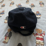 Vintage Navy Champion Fleece Cap-Hats/Accessories-DISTINCT - THREADS