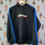 Vintage Navy Ellesse Hoodie (S) 🇮🇹-Sweatshirts/Jumpers-DISTINCT - THREADS