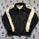Vintage Navy, Forest Green & Cream Ellesse Jacket (L)-Jackets/Coats-DISTINCT - THREADS