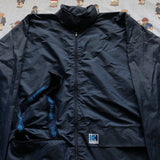 Vintage Navy Helly Hansen Pac A Mac Jacket (L)-Jackets/Coats-DISTINCT - THREADS