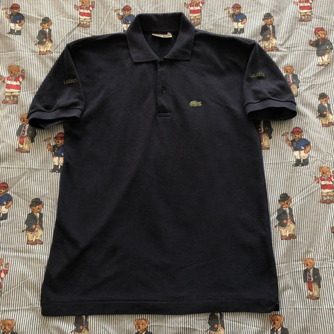 Vintage Navy Lacoste Polo Shirt 🐊(M)-Polos-DISTINCT - THREADS