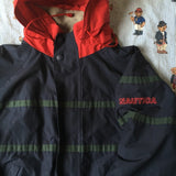 Vintage Navy Nautica 2 In 1 Reversible Jacket & Grey Fleece (L)-Fleeces-DISTINCT - THREADS