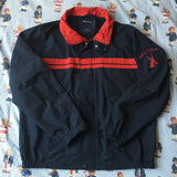 Vintage Navy Nautica Jacket (L)-Jackets/Coats-DISTINCT - THREADS