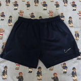 Vintage Navy Nike Sports Shorts (L)-Bottoms-DISTINCT - THREADS