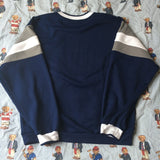 Vintage Navy Nike Sweatshirt-Sweatshirts/Jumpers-DISTINCT - THREADS