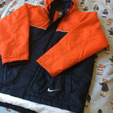 Vintage Navy & Orange Nike Jacket / Coat (L)-Jackets/Coats-DISTINCT - THREADS