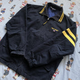 Vintage Navy Polo Sport Harrington 🇺🇸 (L)-Jackets/Coats-DISTINCT - THREADS