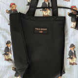 Vintage Navy Ralph Lauren Polo Sport Tote Bag With Matching Purse-Hats/Accessories-DISTINCT - THREADS
