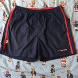 Vintage Navy Tommy Hilfiger Athletic Shorts (M 34inch)-Bottoms-DISTINCT - THREADS