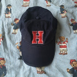 Vintage Navy Tommy Hilfiger Cap-Hats/Accessories-DISTINCT - THREADS
