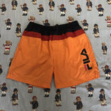 Vintage Orange, Navy & Red Fila Swimming Shorts (M/L)-Bottoms-DISTINCT - THREADS