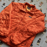 Vintage Orange Patagonia Primaloft Jacket 🏔 (M)-Jackets/Coats-DISTINCT - THREADS