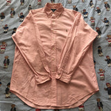 Vintage Pastel Pink Ralph Lauren Button Down Shirt (L)-Shirts-DISTINCT - THREADS