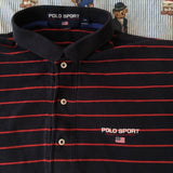 Vintage Ralph Lauren Polo Sport Polo Shirt (M)-Polos-DISTINCT - THREADS