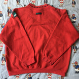 Vintage Red Adidas Equipment Sweatshirt (M)-Sweatshirts/Jumpers-DISTINCT - THREADS