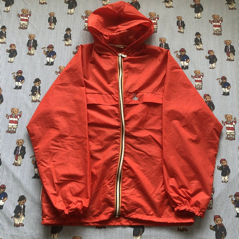 Vintage Red Kway Pac A Mac Jacket (M)-Jackets/Coats-DISTINCT - THREADS