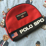 Vintage Red Polo Sport Purse-Hats/Accessories-DISTINCT - THREADS