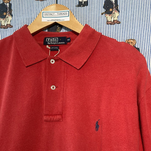 Vintage Red Ralph Polo Shirt (M)-Polos-DISTINCT - THREADS