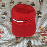 Vintage Red Tommy Hilfiger Six Panel Cap 🔴-Hats/Accessories-DISTINCT - THREADS