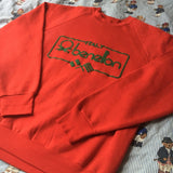 Vintage Red United Colors Of Benetton Sweatshirt 🇮🇹 (M)-Sweatshirts/Jumpers-DISTINCT - THREADS