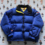 Vintage Royal Blue Tommy Hilfiger Puffer Jacket (S)-Jackets/Coats-DISTINCT - THREADS