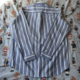 Vintage Striped Tommy Hilfiger Button Down Shirt (L)-Shirts-DISTINCT - THREADS