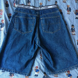 "Vintage Tommy Hilfiger Jean Shorts 🌊 (33"")-Bottoms-DISTINCT - THREADS"