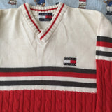 Vintage Tommy Hilfiger Jumper (XL)-Sweatshirts/Jumpers-DISTINCT - THREADS