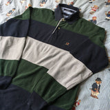 Vintage Tommy Hilfiger Long Sleeve Polo Shirt (M)-Shirts-DISTINCT - THREADS