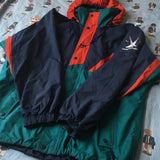Vintage Turquoise Helly Hansen Twin Sails Jacket (L)-Jackets/Coats-DISTINCT - THREADS