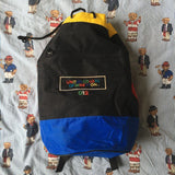 Vintage United Colors Of Benetton Duffel Rucksack 🌈-Hats/Accessories-DISTINCT - THREADS
