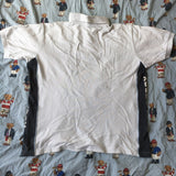 Vintage White Fred Perry Polo Shirt (M)-Polos-DISTINCT - THREADS