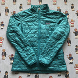 Vintage Womens Teal Patagonia Primaloft Jacket 🏔 (M)-Jackets/Coats-DISTINCT - THREADS