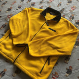 Vintage Yellow Polo Sport Fleece (L)-Fleeces-DISTINCT - THREADS