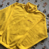 Vintage Yellow Sergio Tacchini Fleece (L)-Fleeces-DISTINCT - THREADS