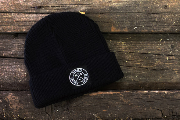 Order of Man Black Beanie