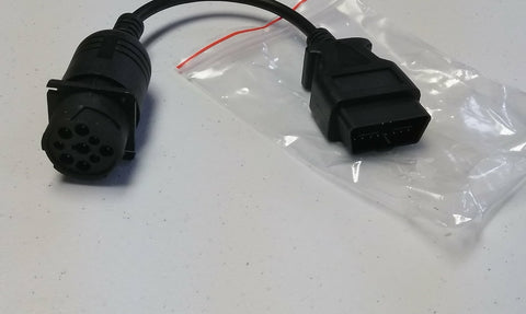 16-Pin Square to J1939 Adapter Cable