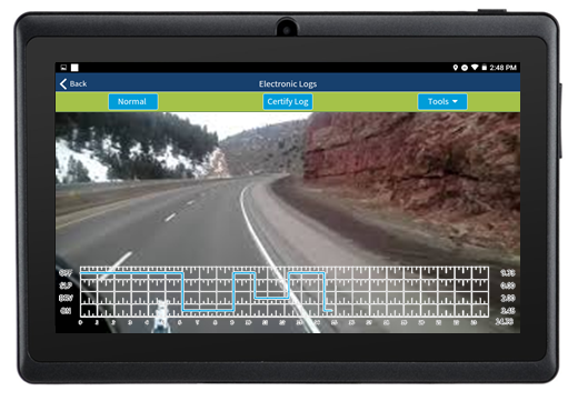 Integrated ELD Dashcam
