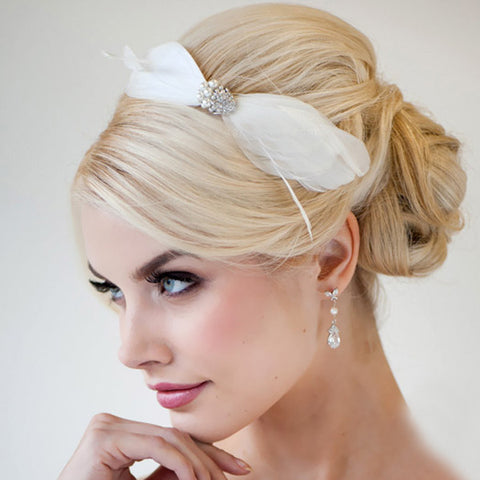 hair ribbon wedding, best wedding hair accessories