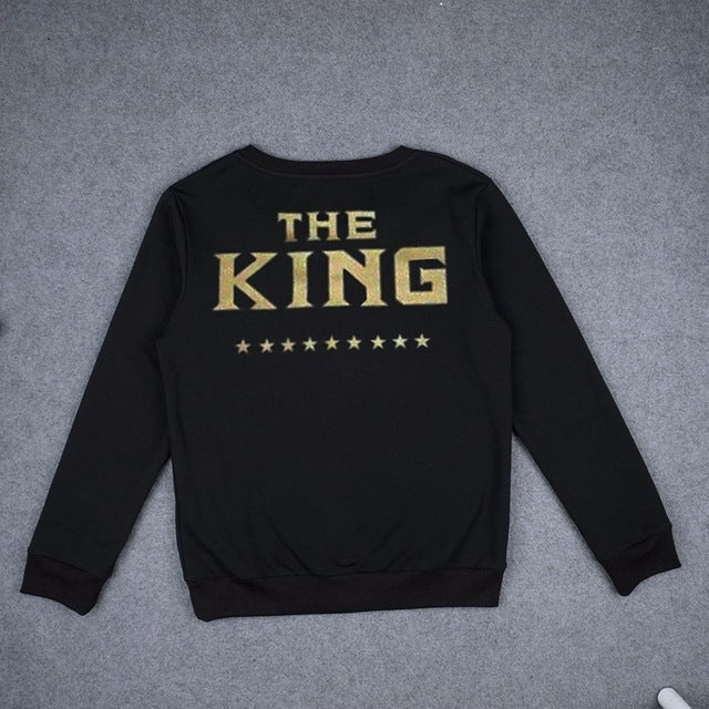 The King and His Queen Matching Sweatshirts - Trend-gem